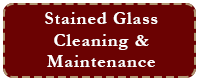 stained glass cleaning & maintenance